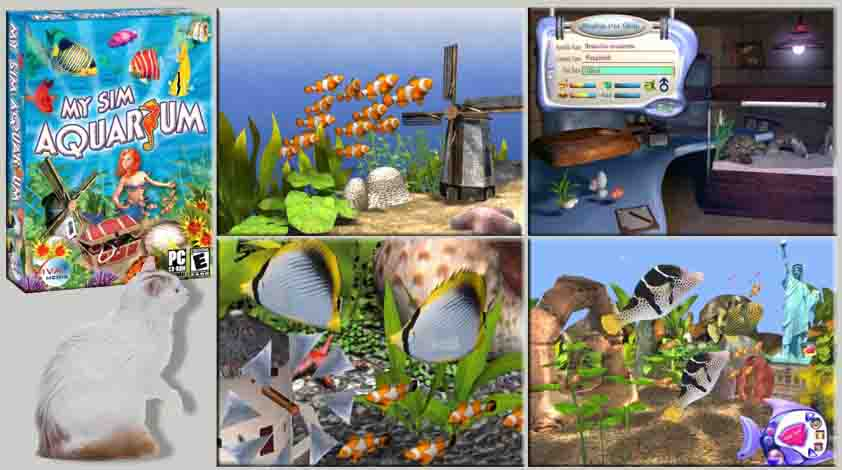 My sim aquarium download full version games for Feed and grow fish free download full game