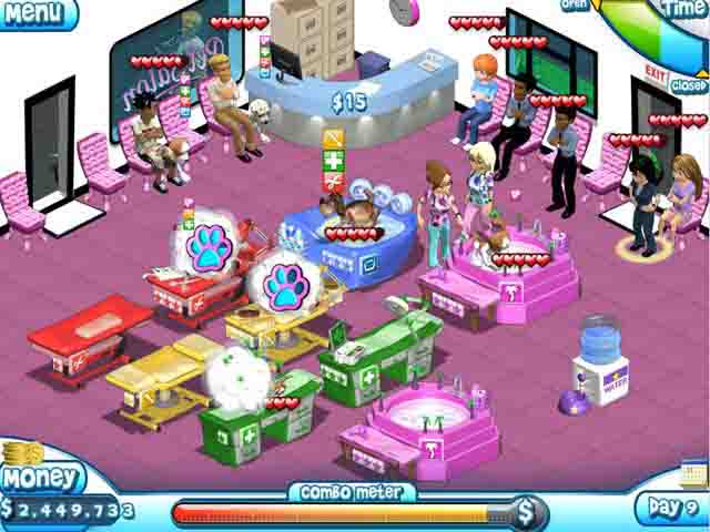 Paradise pet salon download full version games for Salon games free download